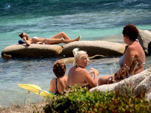 Summertime in ... Porto Faro, Palau.