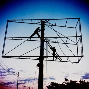 Suburbios, Ciudad del Este, 2008. C-Print. © Alfredo Srur. Exhibitor: Galerie Julian Sander.