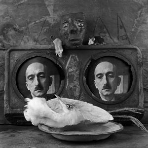 "Homage. From the series ""Asylum of the Birds"" © Roger Ballen"