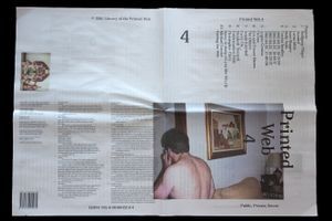 """Part of the exhibition """"Public, Private, Secret,"""" showing at the ICP in New York City."""
