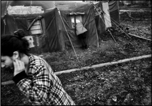 Refugee camp for chechens