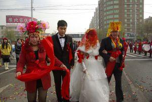 Mariage dans le nord de la Chine © Yongming Guo