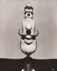 """Dalí's Mustache Cyclops"", Dalí's Mustache (cover), 1949. Archives Philippe Halsman © 2015, Philippe Halsman Archive / Magnum Photos. Exclusive rights for images of Salvador Dalí: Fundació Gala-Salvador Dalí, Figueres, 2015"