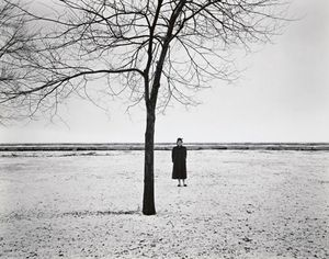 Eleanor, Chicago 1954. © Harry Callahan