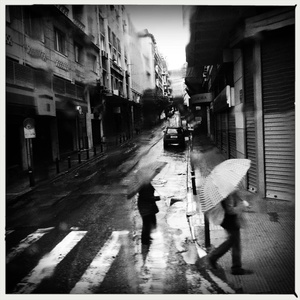 Rain - Athens, Greece
