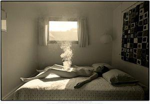 Fall Smoke, 1969 © Les Krims, Paci Contemporary