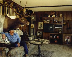 Allan Randolph, Gun Collector, Beulah, Colorado