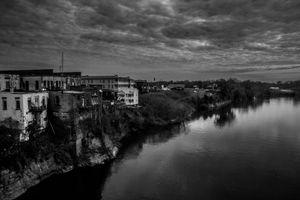 Veiw from Edmund Pettus Bridge, 2015