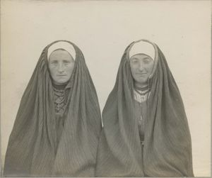 Women in National Costumes, Kielce Province © From the collection of Seweryn Udziela Ethnographic Museum in Krakow.