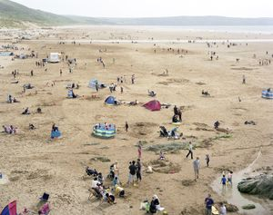 Woolacombe Bay, Devon, 24 May 2008 © Simon Roberts