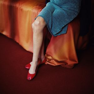 Red Shoes, from the series Still Here © Lydia Goldblatt