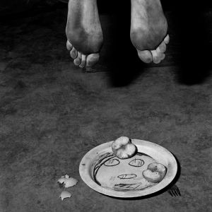 Fragments, 2005, from the series Boarding House © Roger Ballen