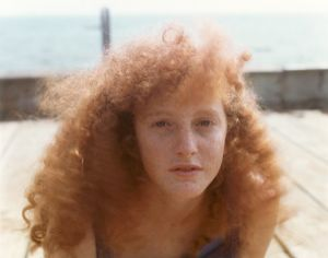 """From the series """"Red Heads,"""" 1991 ©Joel Meyerowitz. Courtesy the artist. Photo London Talks, 2018, Why Color – Joel Mayerowitz, Saturday 19 May 2018, 2.15pm-3.15pm."""
