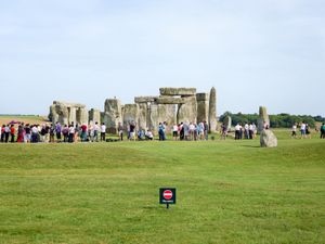 Stonehenge, Wiltshire, 2013. Courtesy Flowers Gallery.