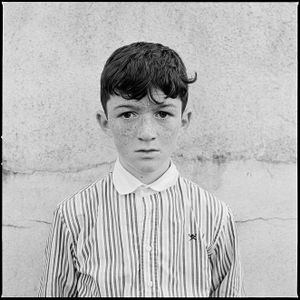 Boy with Striped Shirt, Galway, Ireland 2017