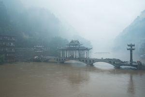 The Rising River, Fenghuang, Hunan, China.
