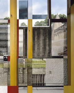 Photo no.1, from the Melting Point series, Couvent de la Tourette, Commune d'Eveux © Stéphane Couturier, Benrubi Gallery