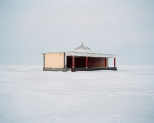 Stage in snowfield,2010
