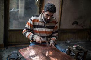 Bashar Hanke working Copper