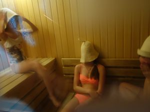 Ah sauna...