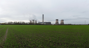 Fiddlers Ferry Coal Power Plant, England 2015