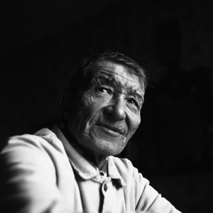 Peter M. Milimov. Khunt. He is probably the last native speaker of the Eastern Khant language (the most rare and ancient Vasyugan dialect), as well as one of the few remaining experts in the traditions and culture of Vasyugan Khants. Natural born fisherman and hunter. Noviy Vasyugan. Tomsk region. Russia. 2009.