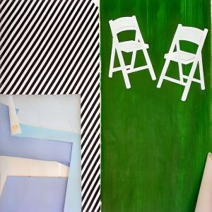 2 Chairs, from the series Inside Roy Lichtenstein's Studio © Laurie Lambrecht, 19901992