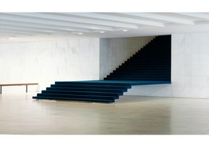 The Itamaraty Palace - Foreing Relations Ministry, spiral stairs, Brasília, 2012.