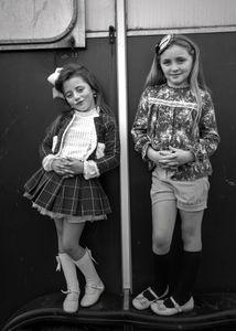 Little Traveler Girls, Ballinasloe Horse Fair