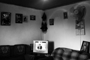 Inside a village house in Shkoder, Albania © Enri Canaj