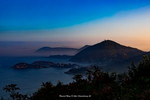HK South dusk