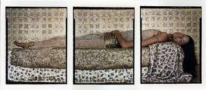 Lalla Essaydi, Bullets Revisited #3, 2012 © Jenkins Johnson Gallery, Paris Photo LA
