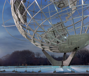 "New York 1964 World's Fair, ""Peace Through Understanding,"" Unisphere"