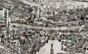 Diorama Map Bern (detail) © Sohei Nishino/Courtesy of Michael Hoppen Contemporary