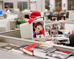 City Reporter's Desk, 9:18pm, 2011 © Will Steacy