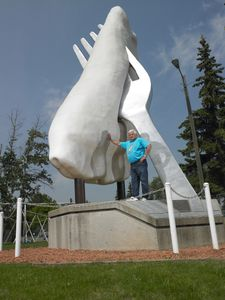 * Johnnie Doonanco, Brain Child Behind the World's Largest Pierogi and Former Mayor/Glendon, Alberta/June 2011