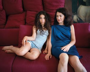 Jacqueline and Juliette, Beirut Lebanon, 2013