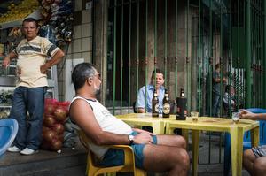 Josue Vira de Andreade, doorman / Avenida Nossa Seniora de Copacabana 395