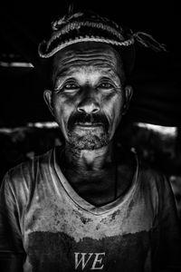 Gan Bahadur Gurung a 63-year old resident of Baluwa, in Gorkha District. The earthquake took his wife.