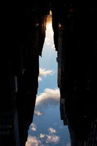 BUILDINGS MADE OF SKY VIII (detail), 2009 © Peter Wegner