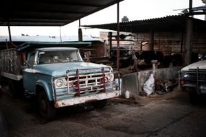 "From the project ""The big men from Chipilo"" - Chipilo, Puebla, Mexico, November/December 2014"