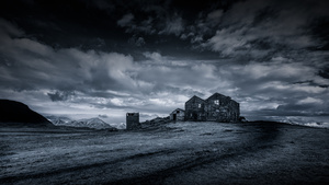Kinda Blue - Abandoned Icelandic Farmhouse