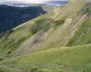 Lingmell Fell, Wasdale Valley, Cumbria, 22 August 2008 © Simon Roberts