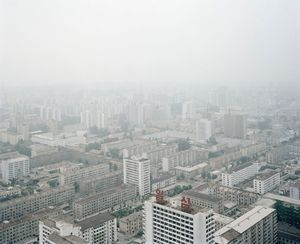 View from the Juche Tower, from <i>Welcome to Pyongyang</i>, © Charlie Crane, 2007