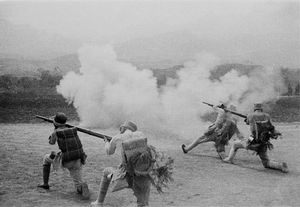 © SHA Fei (1912-1950), The Front - Field exercises, ca. 1940Courtesy of WANG Yan