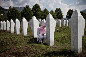 Srebrenica Genocide Memorial in Poto?ari, east Bosnia. © Ole Elfenkämper