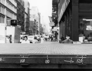 """Broadway, Soho, New York City, New York, USA, 1990, from """"Touchless Automatic Wonder"""" © 2009, Lewis Koch"""