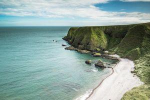 seaside coast