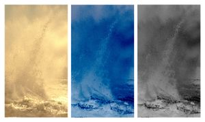 Waves II Triptych