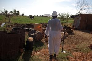 Nubian farmer